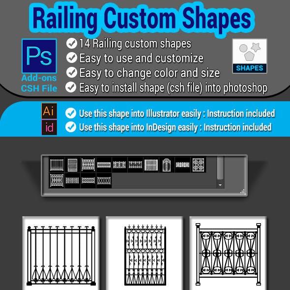 Railing Custom Shapes