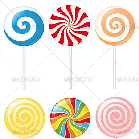 Creamy lollipops