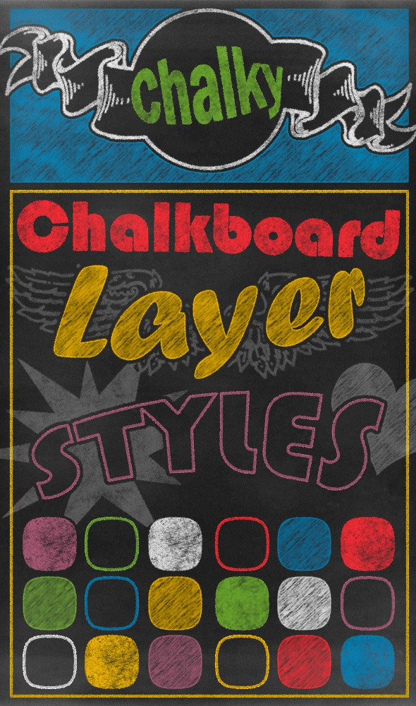Chalk Styles - Text Effects Styles