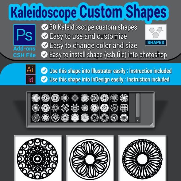 Kaleidoscope Custom Shapes