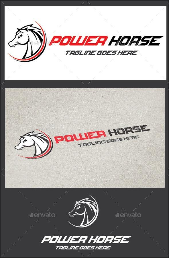 Power Horse - Animals Logo Templates