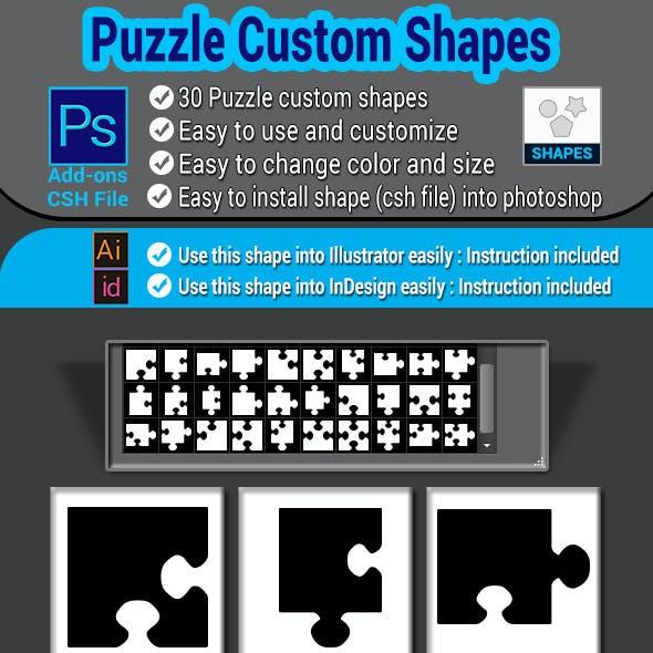 Puzzle Custom Shapes
