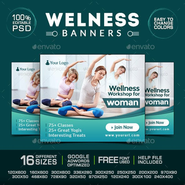 Health & Beauty Banners