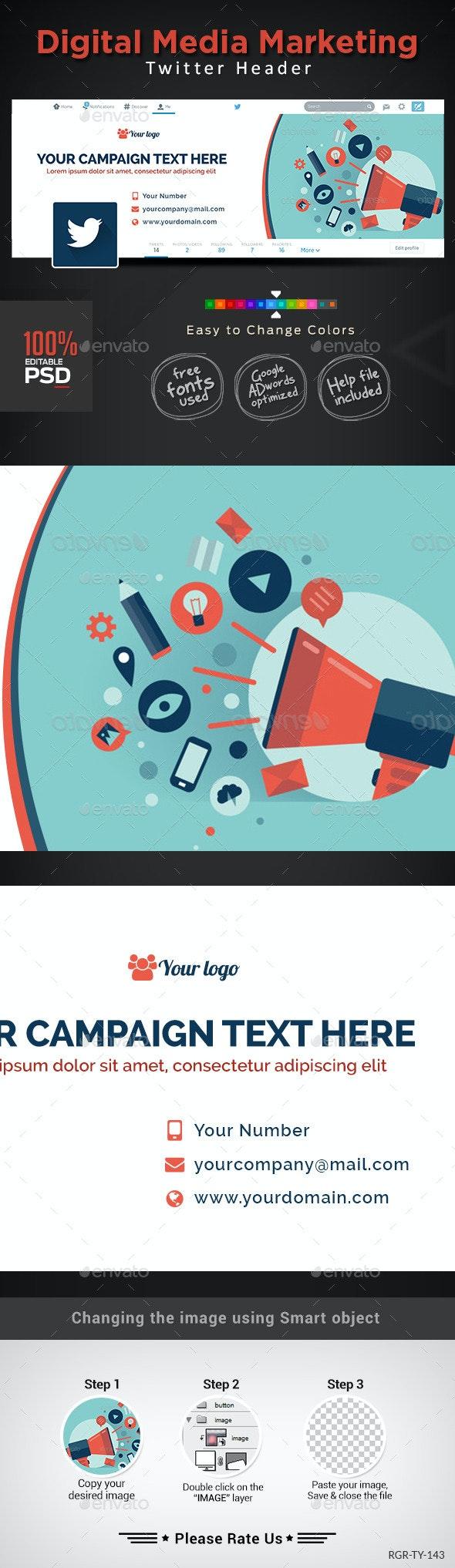Digital Maketing Twitter - Twitter Social Media