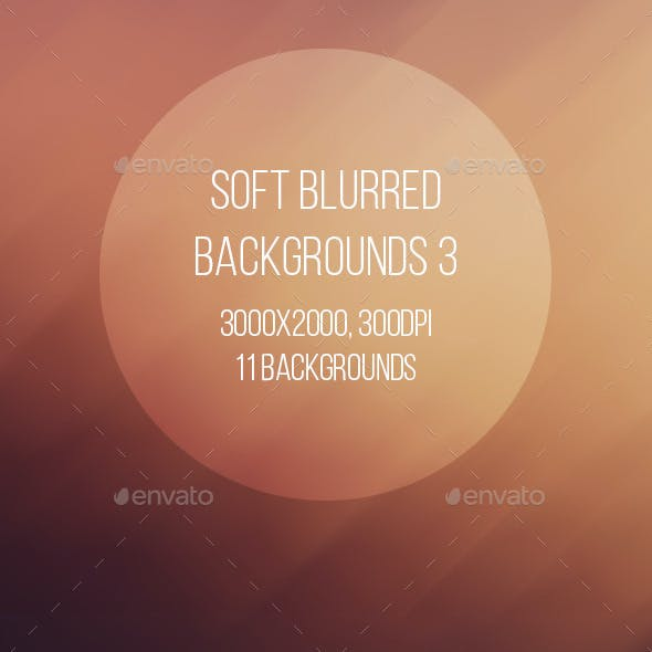 Soft Blurred Backgrounds 3