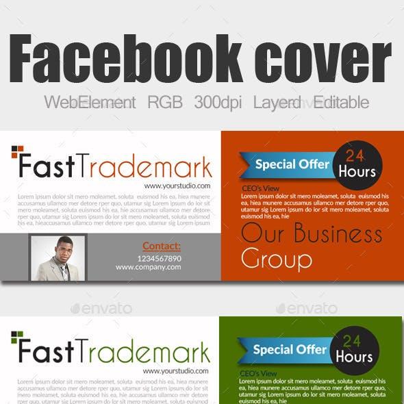 Multi Use Business Facebook Cover