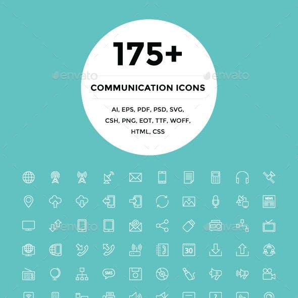 175+ Communication Icons
