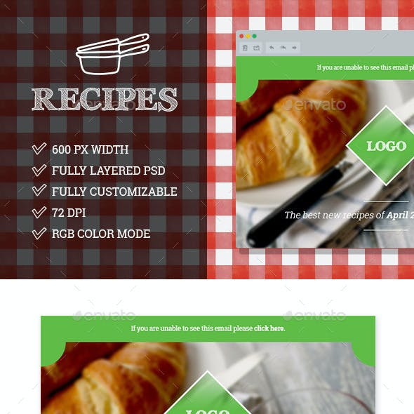 Recipe Newsletter