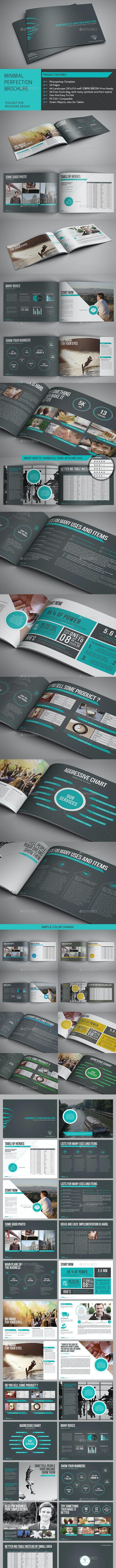 Minimal Perfection Brochure - Brochures Print Templates