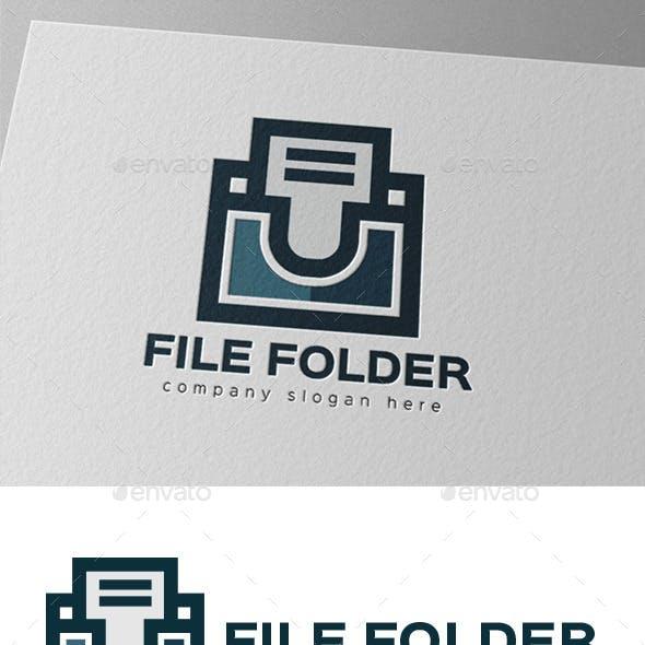 File Document Folder Logo