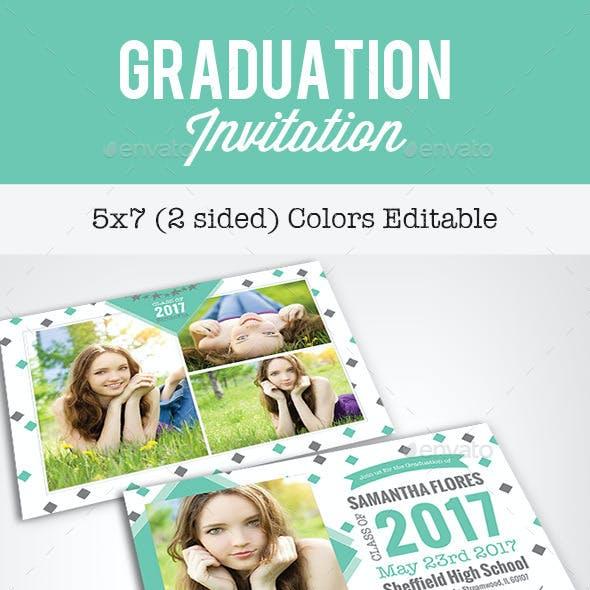 Graduation Invitation - Diamond