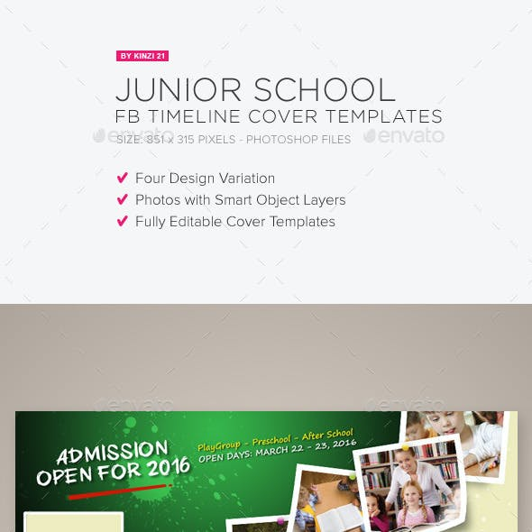 Junior School FB Timeline Covers