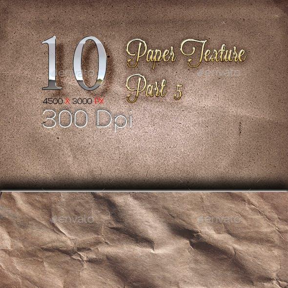 10 Paper Texture Part 5