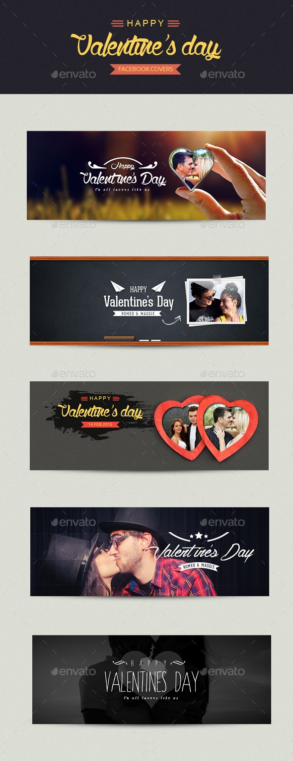 FB Valentines Day Covers - Facebook Timeline Covers Social Media