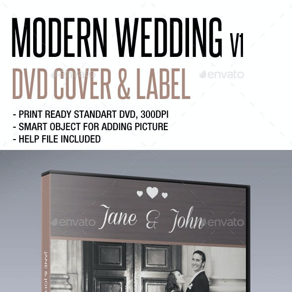 Modern Wedding DVD V1