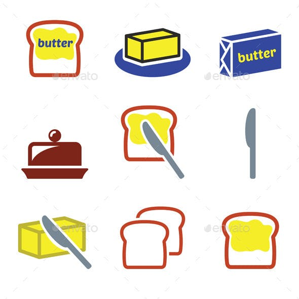 Butter or Margarine Set