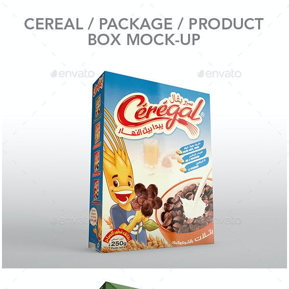 Package & Product Box Mockup
