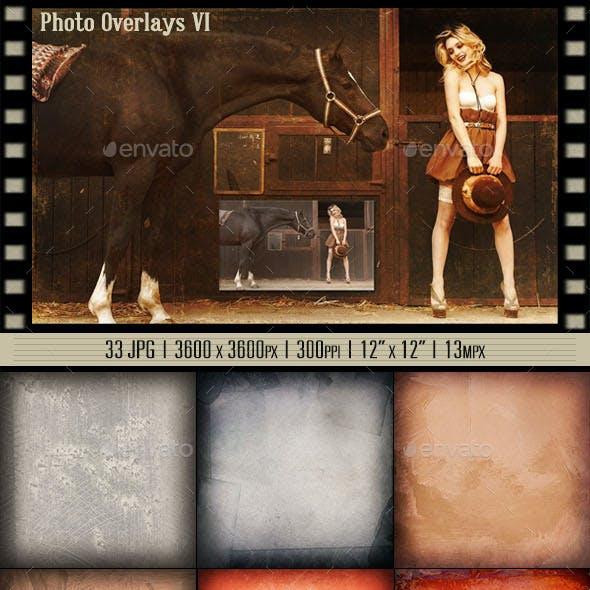 Photo Overlays VI | Color Symphony