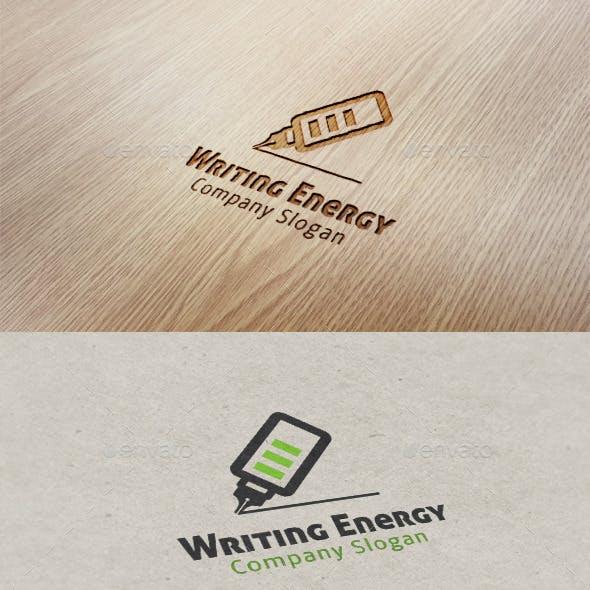 Writing Energy Logo