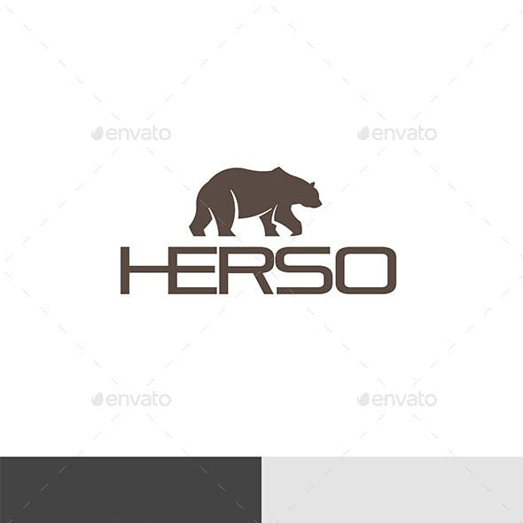 Bear Grizzly Logo Template