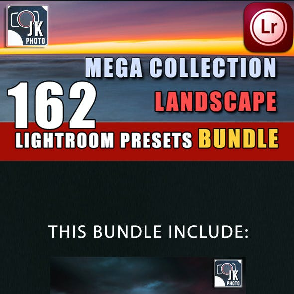 162 LightRoom Landscape Presets Bundle