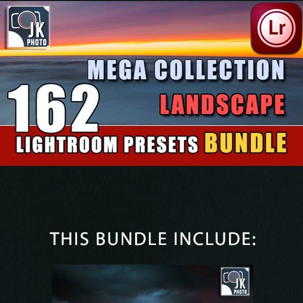 162 LightRoom Landscape Presets Bundle
