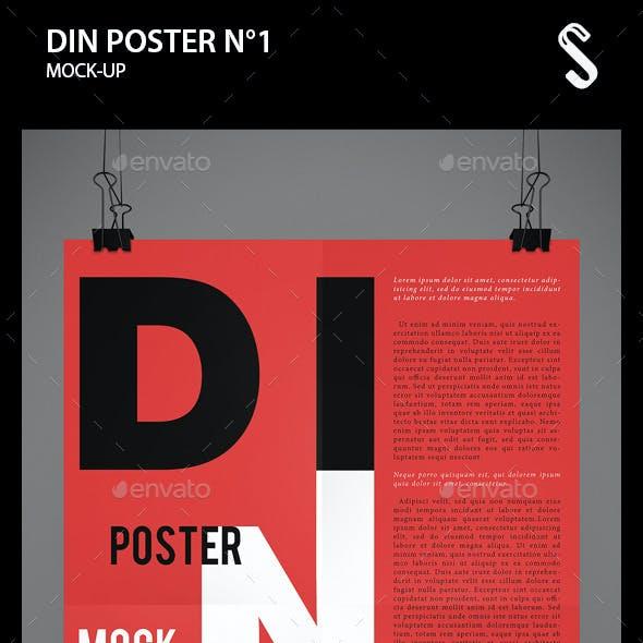 DIN Poster Mockups N1