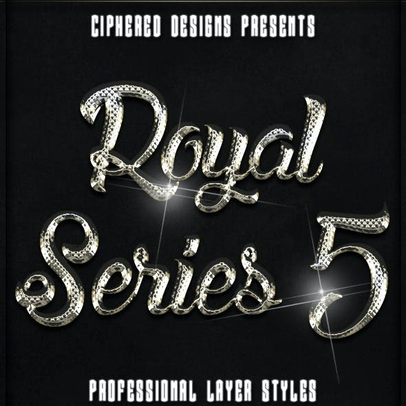 Royal Series 05 - Pro Text Effects