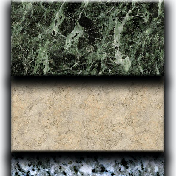 12 Tileable Marble Patterns