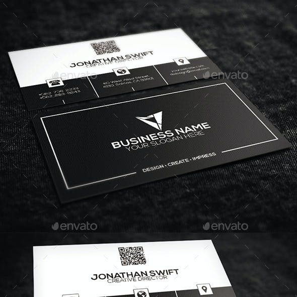 2 in 1 Corporate Business Card Bundle No.03