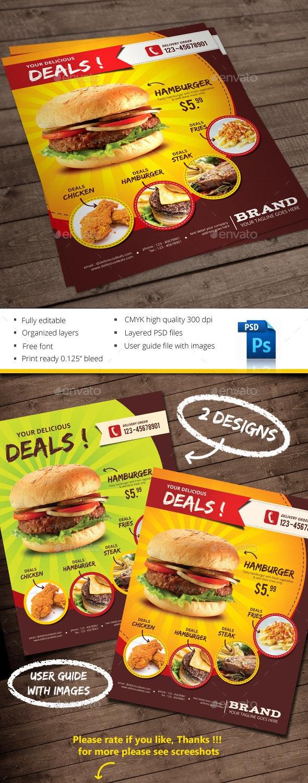Your Delicious Deals - Restaurant Flyers