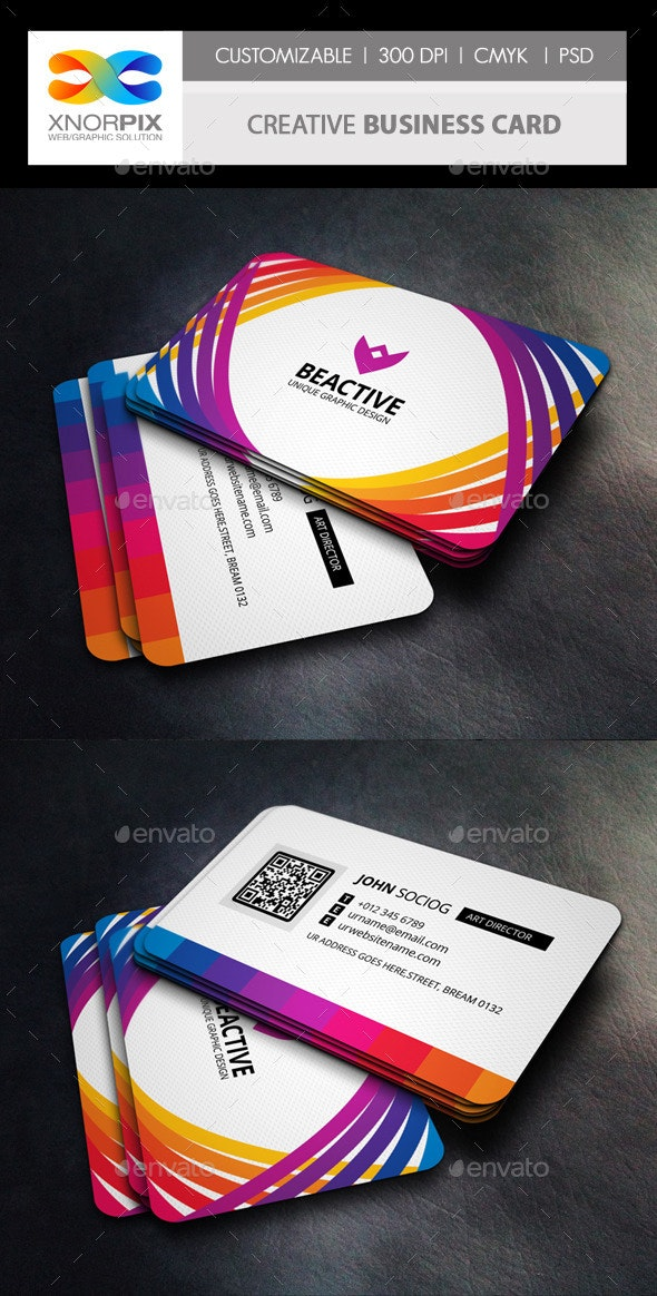 Creative Business Card - Corporate Business Cards