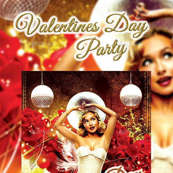 Valentine Day Party 2015 Flyer