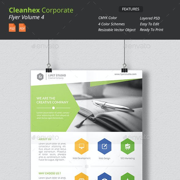 Cleanhex - Clean Corporate Flyer v4