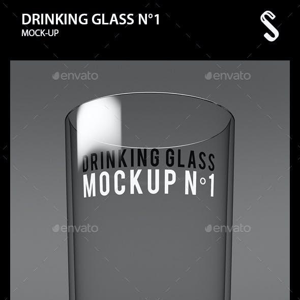 Drinking Glass Mockup N1