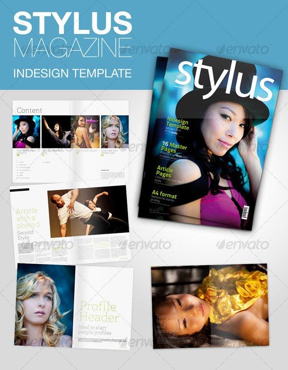 Stylus Indesign Magazine - Magazines Print Templates