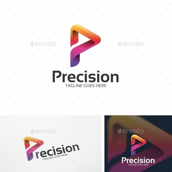 Abstract P Letter - Logo Template