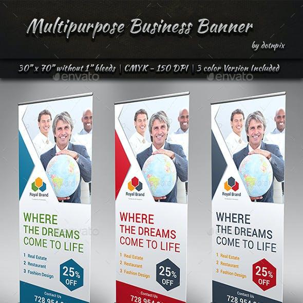 Multipurpose Business Banner