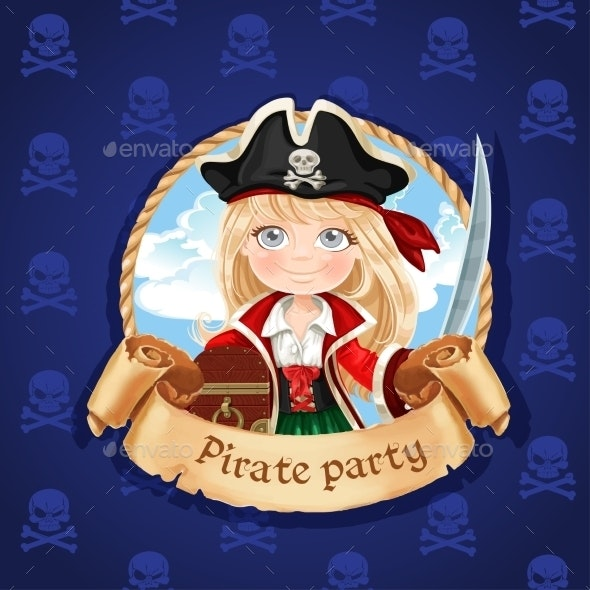 Pirate Frame - People Characters