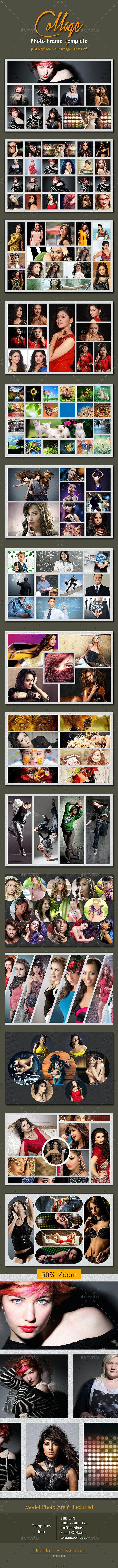 College Photo Frame Templete - Photo Templates Graphics
