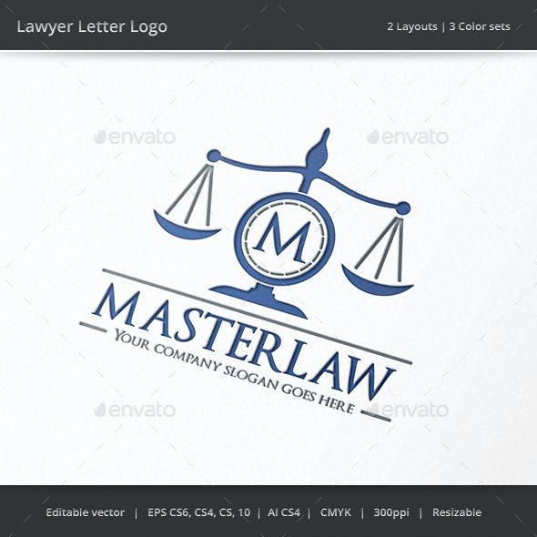 Lawyer Letter Logo
