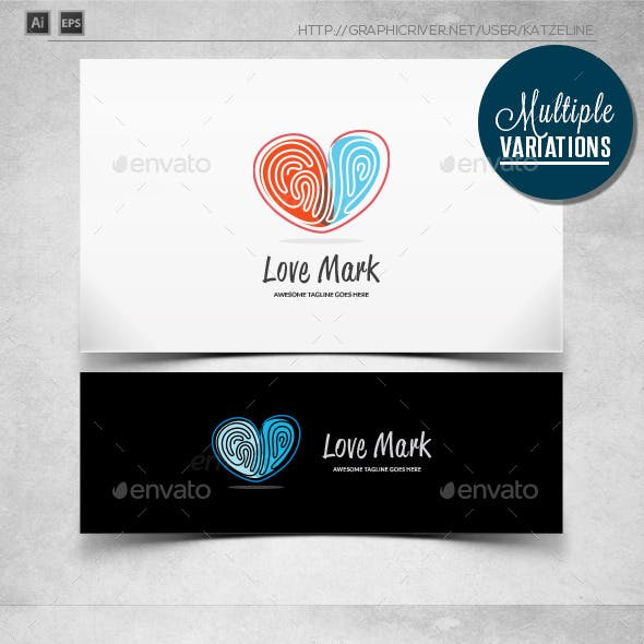 Love Mark - Logo Template