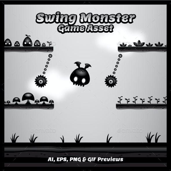 Swing Monster Game Asset