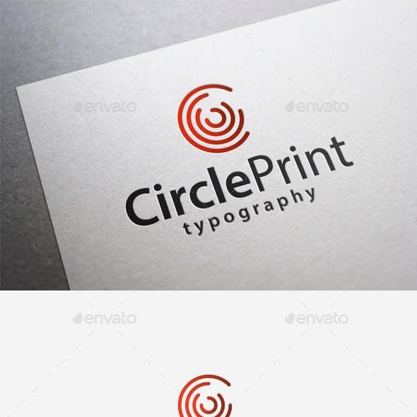Circle Print Logo