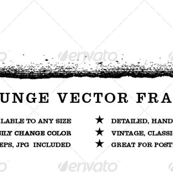 Grunge Vector Frame