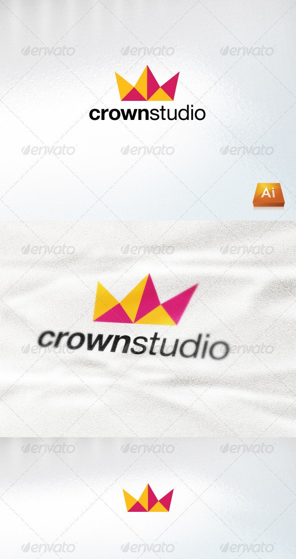 Crown Studio - Abstract Logo Templates