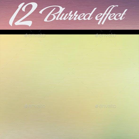 12 Blurred Effect Background
