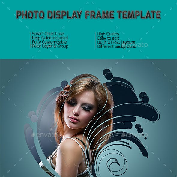 Photo Display Frame Templates