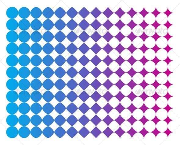 Halftone Pattern - Patterns Decorative