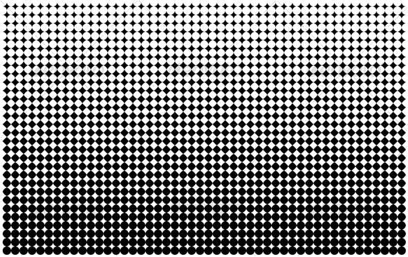 Halftone Pattern - Backgrounds Decorative